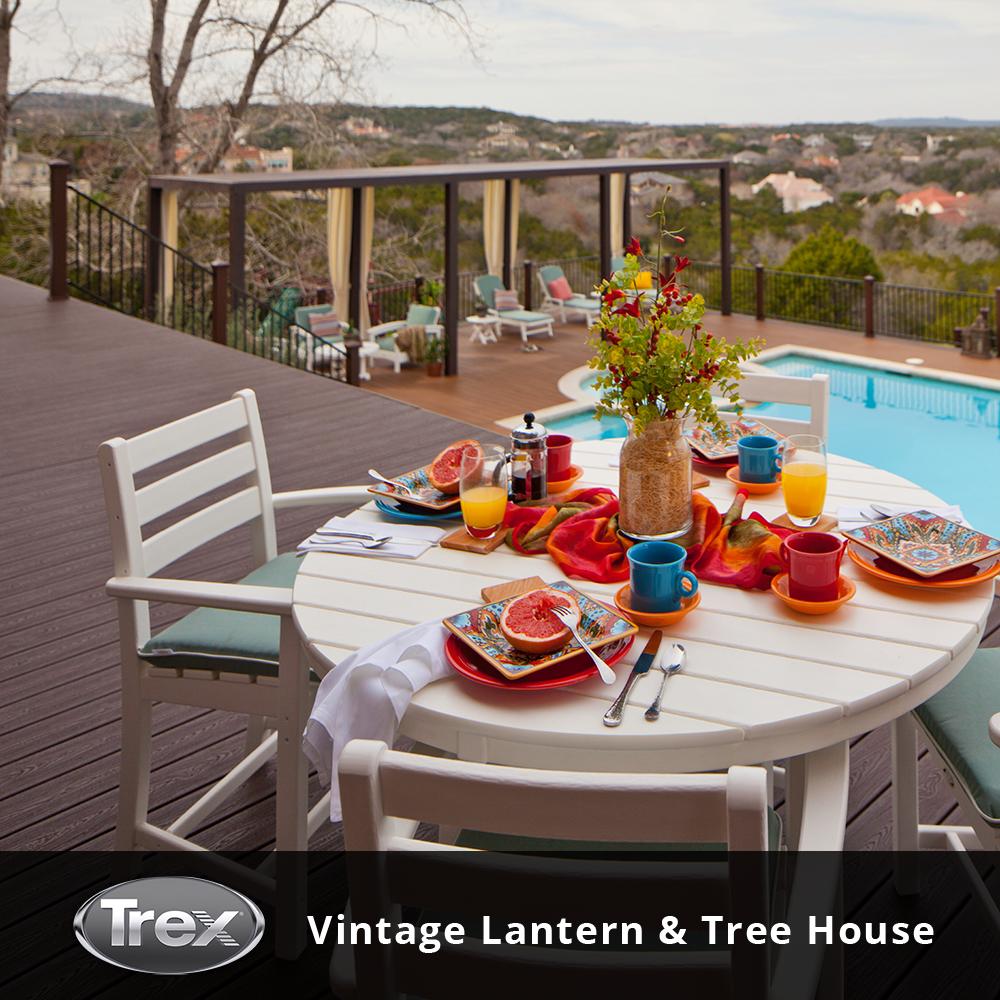 trex composite decking vintage lantern